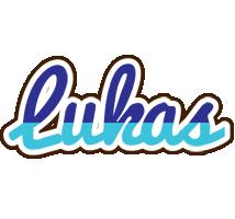 Lukas raining logo