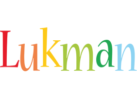 Lukman birthday logo