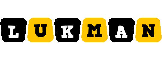 Lukman boots logo