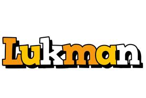 Lukman cartoon logo