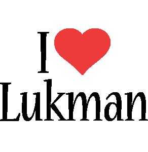 Lukman i-love logo