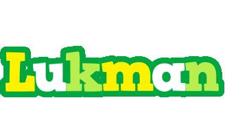 Lukman soccer logo