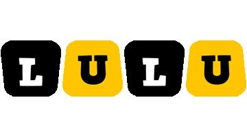 Lulu boots logo