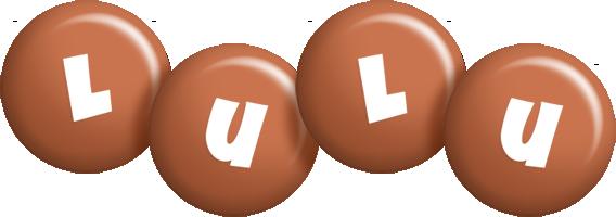 Lulu candy-brown logo