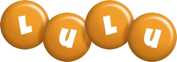 Lulu candy-orange logo