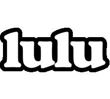 Lulu panda logo