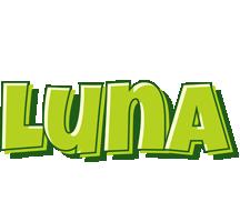 Luna summer logo