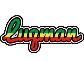 Luqman african logo