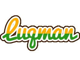 Luqman banana logo