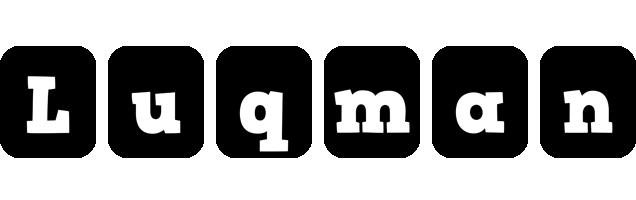 Luqman box logo