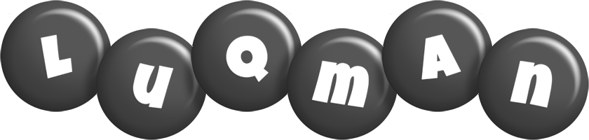 Luqman candy-black logo