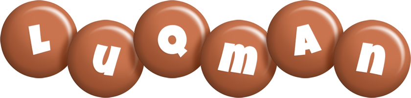 Luqman candy-brown logo