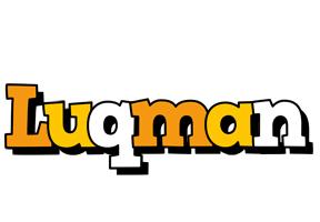Luqman cartoon logo