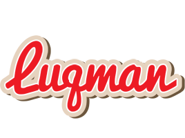 Luqman chocolate logo