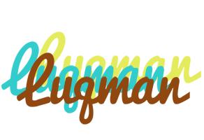 Luqman cupcake logo