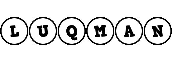 Luqman handy logo