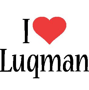 Luqman i-love logo