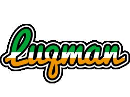 Luqman ireland logo