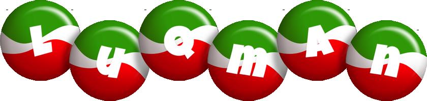 Luqman italy logo