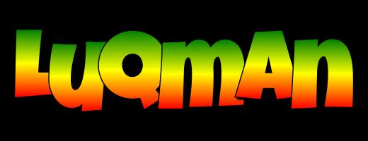 Luqman mango logo