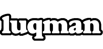 Luqman panda logo