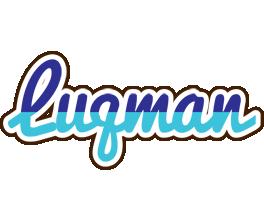 Luqman raining logo
