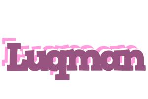 Luqman relaxing logo
