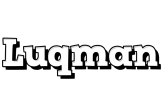 Luqman snowing logo