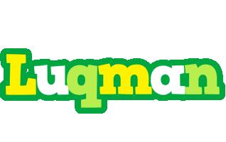 Luqman soccer logo
