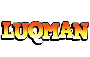 Luqman sunset logo