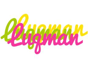Luqman sweets logo