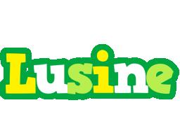Lusine soccer logo