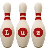Luz bowling-pin logo