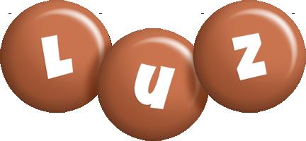 Luz candy-brown logo