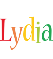 Lydia birthday logo