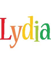 Lydia birthday logo