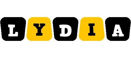 Lydia boots logo