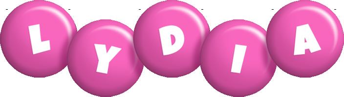 Lydia candy-pink logo