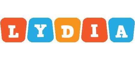 Lydia comics logo