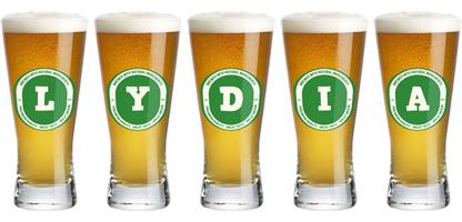 Lydia lager logo