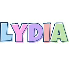 Lydia pastel logo