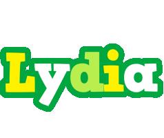 Lydia soccer logo