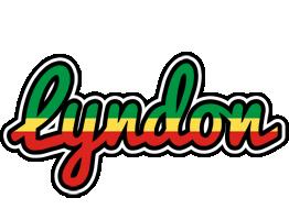 Lyndon african logo