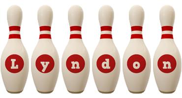 Lyndon bowling-pin logo