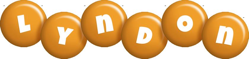 Lyndon candy-orange logo