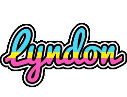 Lyndon circus logo