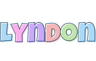 Lyndon pastel logo
