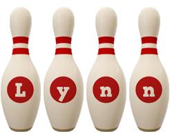 Lynn bowling-pin logo