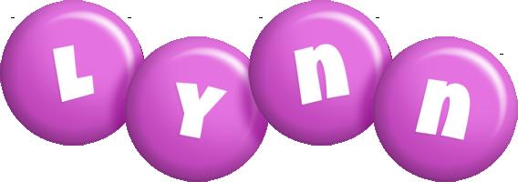 Lynn candy-purple logo