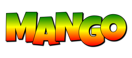 MANGO logo effect. Colorful text effects in various flavors. Customize your own text here: https://www.textGiraffe.com/logos/mango/